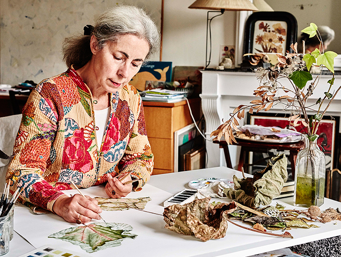 elisabeth vitou artiste botanique-peinture botanique paris-aquarelle botanique paris-cours d'illustration botanique