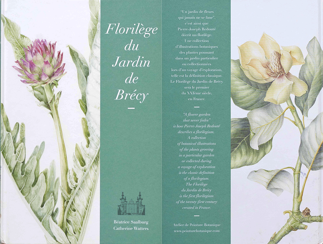 florilege de brecy-elisabeth vitou-artiste botanique-peinture-botanique