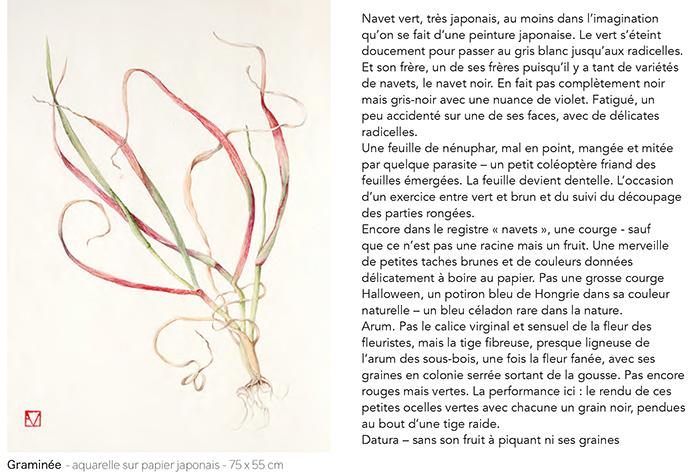 Elisabeth Vitou exposition Galerie Couteron